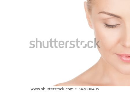 close up of beautiful blonde lady Stock photo © Dave_pot