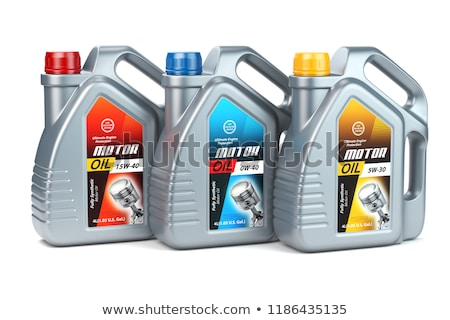 Machine olie geïsoleerd witte auto fles Stockfoto © ozaiachin
