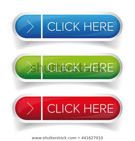 Kliknij tutaj niebieski wektora ikona przycisk Internetu Zdjęcia stock © rizwanali3d