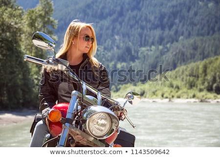 Britannique jeunes mode métal beauté Photo stock © godfer