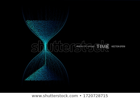 hourglass vector illustration stock photo © mr_vector