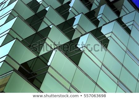 Cingapura arquitetura moderna colorido pôr do sol luz negócio Foto stock © joyr