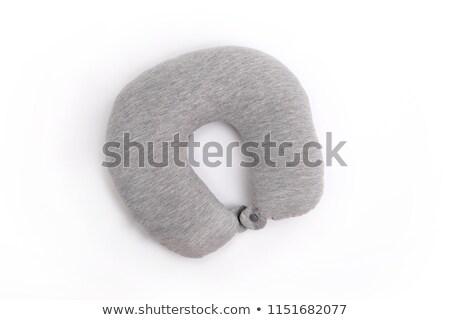 inflable · cuello · almohada · blanco · color · sueno - foto stock © ozaiachin