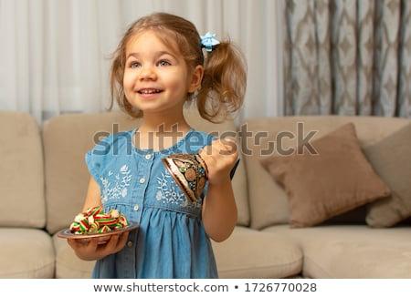 Muzułmanin · dzieci · tradycyjny · żywności · indonezyjski · chłopca - zdjęcia stock © tujuh17belas