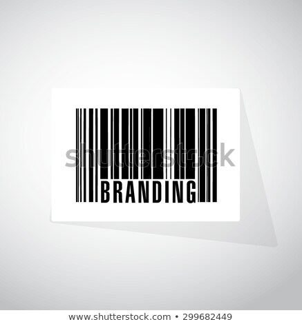 Customer word on colored barcode Stock photo © fuzzbones0