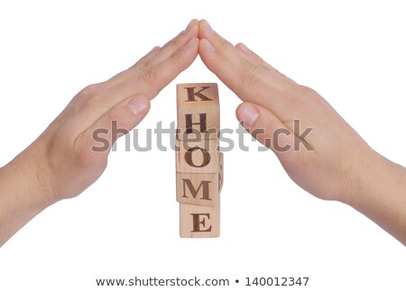 Real Estate word made by letter pieces stock photo © fuzzbones0
