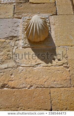 Granon in The way of Saint James in La Rioja Stock photo © lunamarina