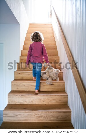 Stock photo: family walking from up