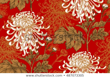 Luxo dourado vintage floral padrão exclusivo Foto stock © liliwhite