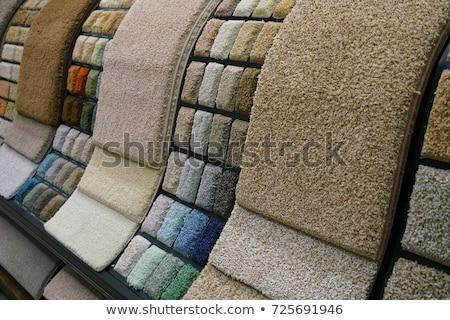 Színes bolt ipar szőnyeg minta hátterek Stock fotó © Jasminko