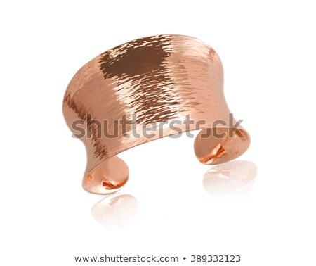 Zdjęcia stock: Copper Rose Gold Bracelet