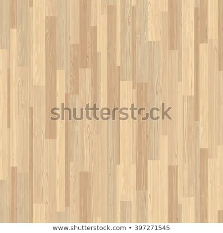 Light Parquet Seamless Wooden Stripe Mosaic Tile Stock photo © Voysla