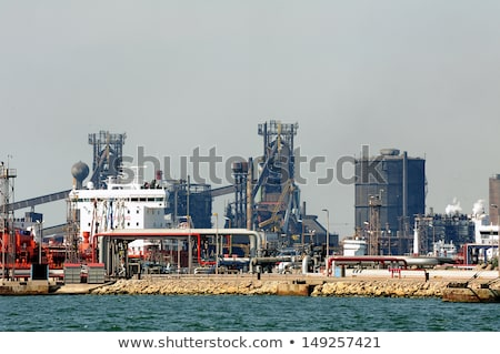 マルセイユ 1泊 油 エネルギー 反射 ストックフォト © meinzahn