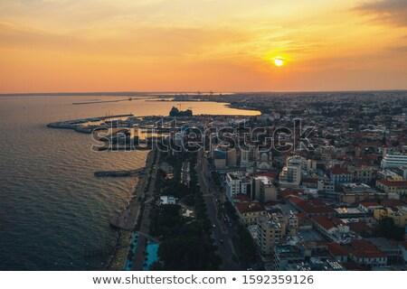 パノラマ 表示 市 色 コーヒー 風景 ストックフォト © Kirill_M