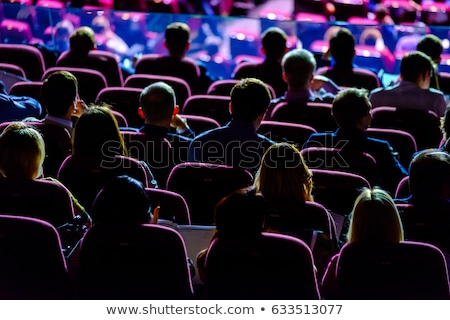 Stock photo: People at the conference hall