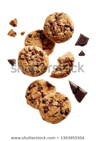 шоколадом · Cookies · ваниль · кремом · заполнение - Сток-фото © digifoodstock