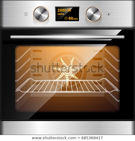 Electric oven. Vector Stock photo © Ava