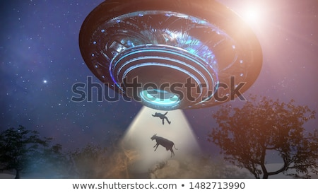 Alien Abduction Stock photo © Bigalbaloo