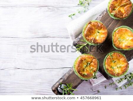 チーズケーキ ケーキ チーズ 赤 ナッツ ストックフォト © Digifoodstock