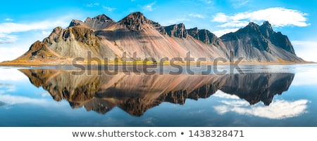 Mountain view, Iceland stock photo © kb-photodesign