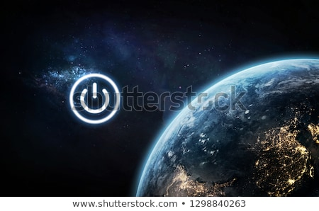 Satellite near the planet Earth Stock photo © bluering