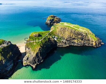 ストックフォト: 島 · 風景 · 北方 · アイルランド · 水 · 雲