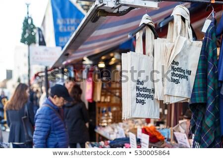 London Portobello road Market in UK Stock photo © lunamarina