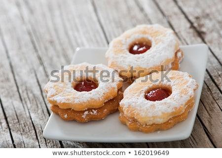 ojo · trigo · integral · cookie · rojo · grosella · alimentos - foto stock © Digifoodstock