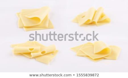 сыра Ломтики полный кадр продовольствие Сток-фото © Digifoodstock