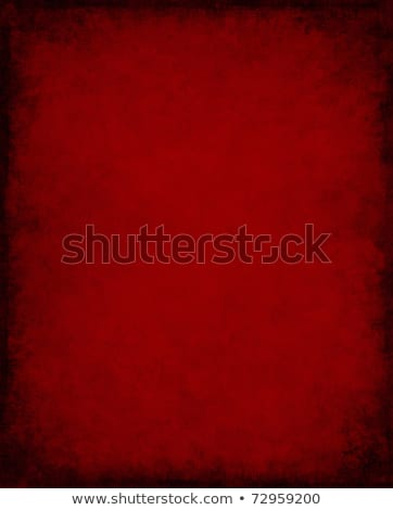 Black grunge background. Blank aged red paper background, vertic Stock photo © pashabo