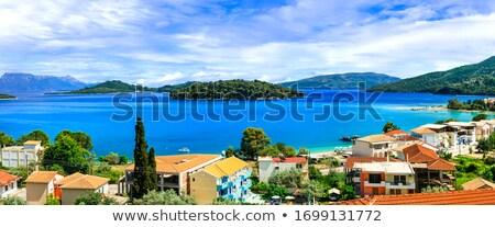 panorámakép · kilátás · turisztikai · üdülőhely · népszerű · mediterrán - stock fotó © freesurf