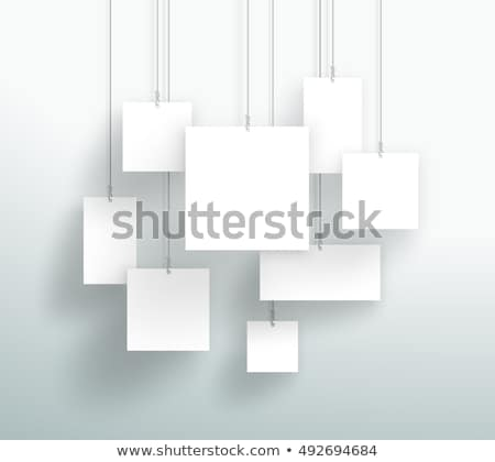 Photo hanging wall background Stock photo © romvo