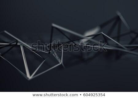 abstrato · 3D · caótico · superfície · contemporâneo - foto stock © user_11870380