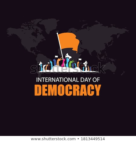 15 september International Day of Democracy Stock photo © Olena