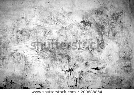 rough grunge texture of uneven paint strokes stock photo © stevanovicigor