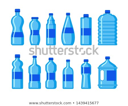 vidrio · frescos · saludable · agua · mineral · vector · diseno - foto stock © marysan