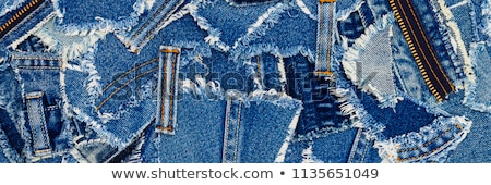 denim fabric stock photo © frankljr