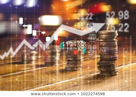 Bitcoin saving and investment concept Stock photo © stevanovicigor