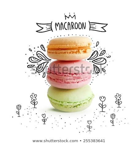 甜 麵包店 粉紅色 顏色 食品 商業照片 © robuart