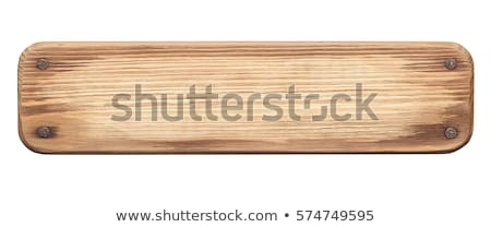 rusty nails on a rustic wooden surface Stock photo © nito
