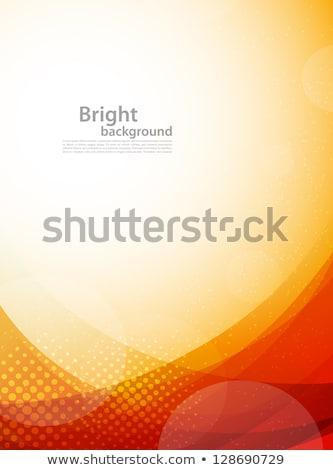 orange rays abstract background stock photo © studiostoks
