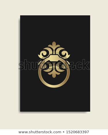 fém · ajtó · palota · Bordeau · Franciaország · égbolt - stock fotó © FreeProd