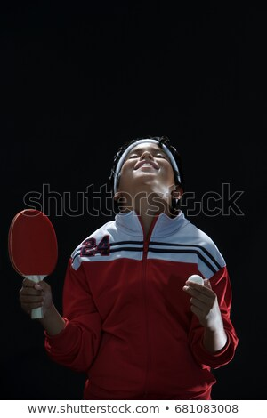 Junior table tennis champ Stock photo © IS2