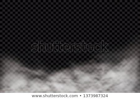 átlátszó fehér vektor köd terv háttér Stock fotó © kostins