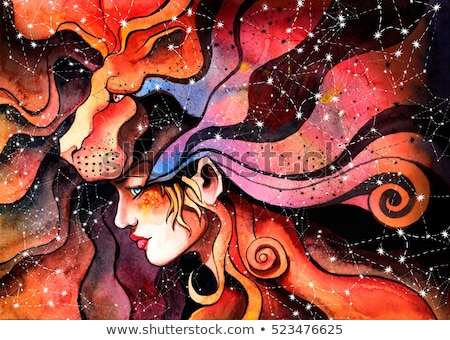 lion leo zodiac astrology sign stock photo © krisdog