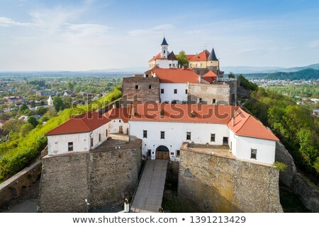 Mukachevo castle view (Ukraine) Stock photo © wildman