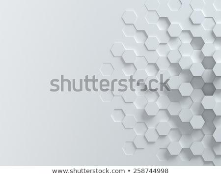 abstrato · futurista · superfície · azul · iluminação · 3d · render - foto stock © SmirkDingo