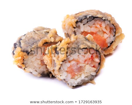 Closeup few sushi roll california stock photo © Cipariss