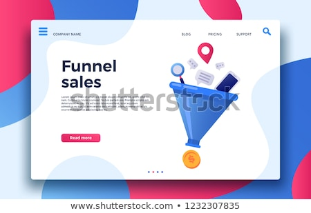 Inbound Marketing, Converting Leads Into Sales or Customers Stock photo © olivier_le_moal