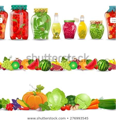перец консервированный овощей икона пряный Сток-фото © robuart